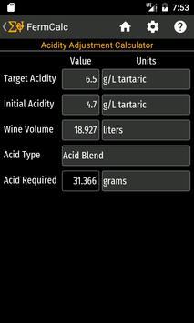 FermCalc screenshot 3