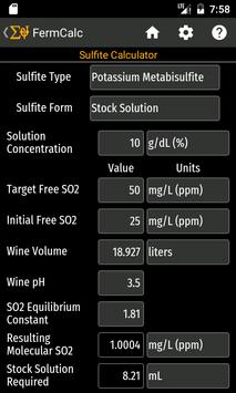 FermCalc screenshot 4