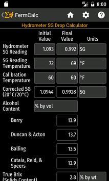 FermCalc screenshot 5