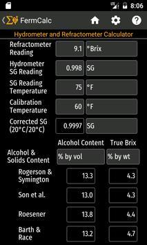 FermCalc screenshot 6