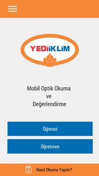 Yediiklim Optik Okuma poster