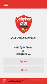 Çalışkan Arı Optik Okuma poster