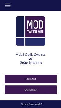 Mod Yayınları Optik Okuma poster