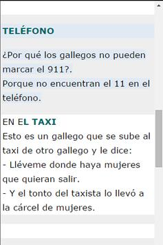 Chistes Gallegos apk screenshot