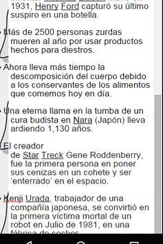 Lo Sabias? apk screenshot