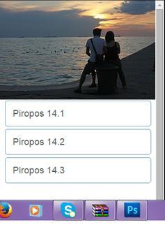 Piropos 14 poster
