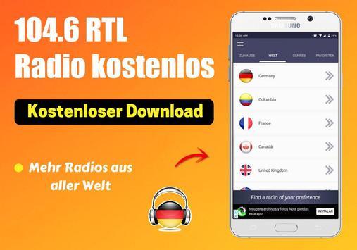 104.6 Rtl Radio kostenlos App DE Kostenlos Online screenshot 2