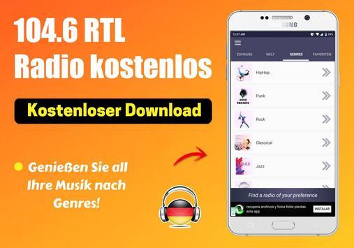 104.6 Rtl Radio kostenlos App DE Kostenlos Online screenshot 3