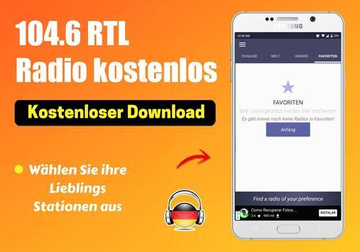 104.6 Rtl Radio kostenlos App DE Kostenlos Online screenshot 4