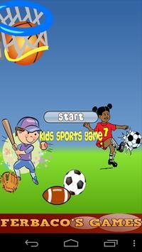 Kids Sports Game Free apk screenshot