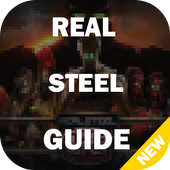 Real guide robot boxing steal icon