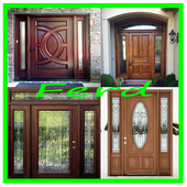 Entry door designs icon