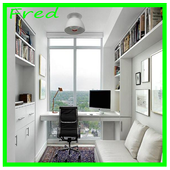 Home office designs icon