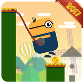 Swing Rope Hero - Stick Hero icon
