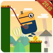 Swing Rope Hero - Stick Hero icon