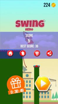 Swing Rope Hero - Stick Hero apk screenshot