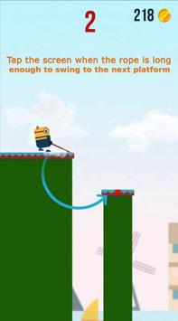 Swing Rope Hero - Stick Hero poster