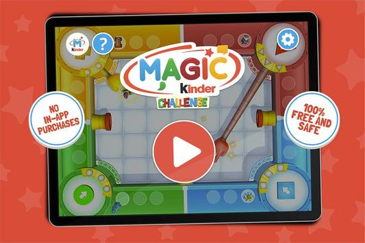 MAGIC KINDER Challenge poster