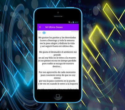 Banda Los Recoditos - Mi Último Deseo screenshot 2