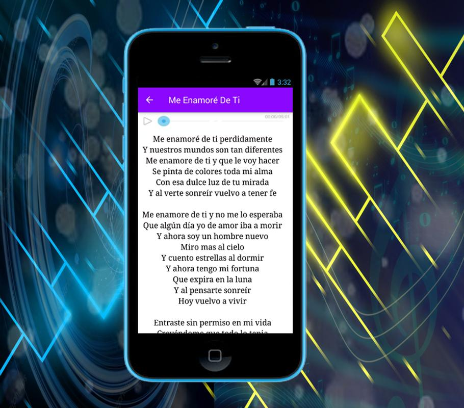 David Bisbal Me Enamoré De Ti For Android Apk Download