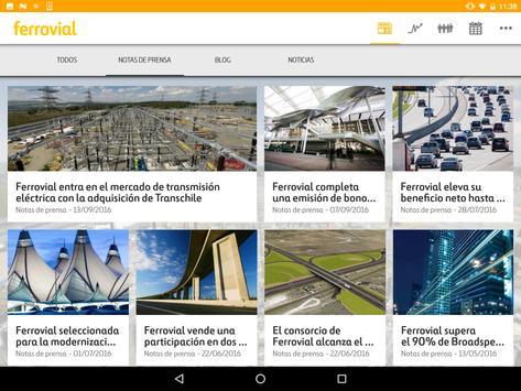 Ferrovial app apk screenshot