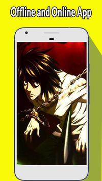 Wallpaper Death Note screenshot 2