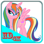 Wallpaper Little Pony HD icon