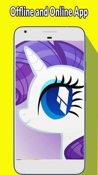 Wallpaper Little Pony HD screenshot 2