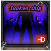 Salvage sunken ship icon