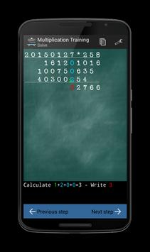 Multiplication Training screenshot 4