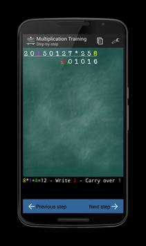 Multiplication Training screenshot 1