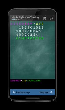 Multiplication Training screenshot 3
