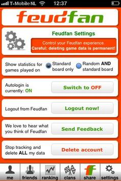 Feudfan - Wordfeud tracker screenshot 4