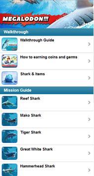 Ref.Guide for Hungry Shark Evo تصوير الشاشة 6