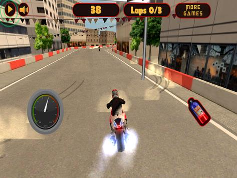 Speed City Motorcycle screenshot 1