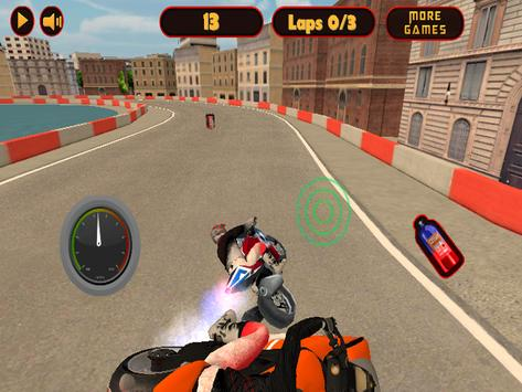 Speed City Motorcycle screenshot 3
