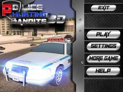 Police Hunting Bandits 3d screenshot 8