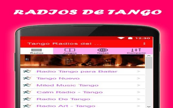Tango Radio Free World apk screenshot
