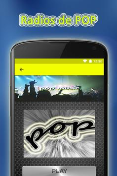 POP Radios Online Gratis Good screenshot 1