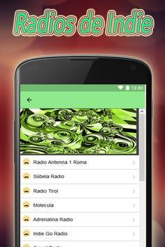 Radios de Indie Gratis Online apk screenshot