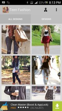 Teen Fashion apk screenshot