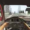 Racing in Car ícone