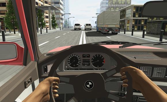 Racing in Car poster