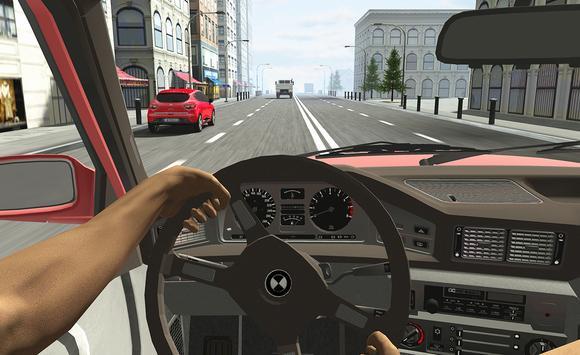 Racing in Car apk screenshot