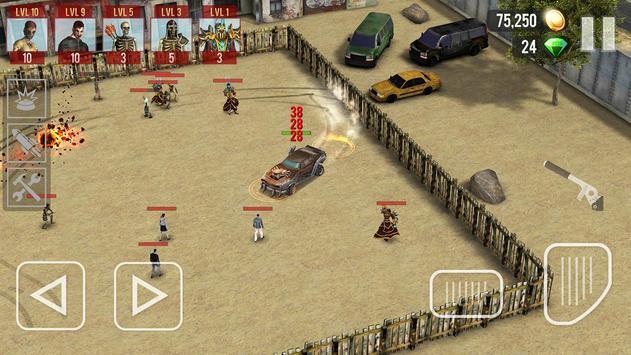 Zombie Drift apk screenshot