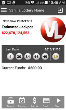 Vanilla Lottery Beta (Unreleased) screenshot 1