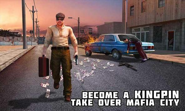 Crime City Mafia Gang War Car Theft Gangster Games screenshot 3