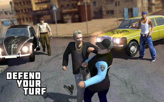 Crime City Mafia Gang War Car Theft Gangster Games screenshot 7