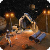 Space City Construction Simulator Game:Mars Colony icon