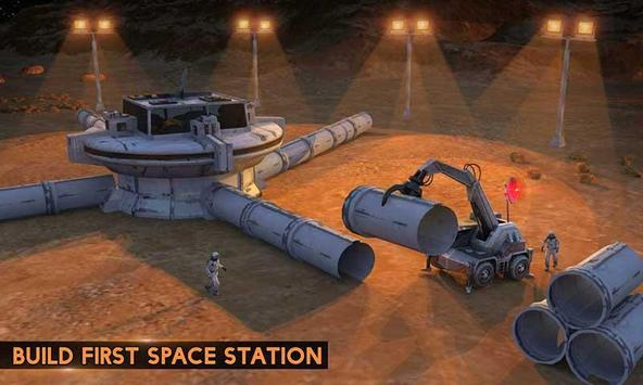 Space City Construction Simulator Game:Mars Colony screenshot 4
